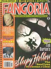 FANGORIA MAGAZINE #188 SLEEPY HOLLOW, BATS, SCHWARZENEGGER in HELL, HAUNTED HILL