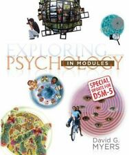 Exploring Psychology in Modules with Updates on DSM-5, by Myers, 9th Edition