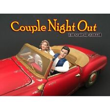 Couples Night Out #3-Set of 2 seated-1/24 scale figure/figurine-AMERICAN DIORAMA