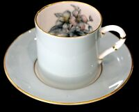 Royal Worcester Woodland Demitasse Cup And Saucer