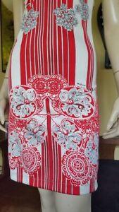 Mr. Dino Vtg 70s Ovaries Psych Op Art Mini Halter Sundress Strappy Dress XS OOAK
