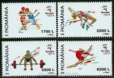 2000 Sydney Olympics,Boxing,Gym,High Jumping,Weight lifting,Romania,Mi.5513,MNH