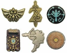 Legend of Zelda: Breath of the Wild Pin Badge Collection (2017) Brand New Import