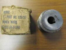 Worm Gear for Braden LU4 MU2 Winch 18012 MU100R 926737 G502-04-51392 NOS