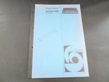 Original Service Manual Bang & Olufsen Beocord 5000