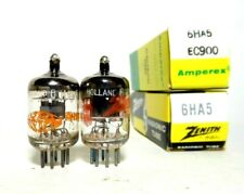 Matched Pair 6HA5 NOS NIB Tubes Philips Holland EC900 Triode 6HM5 Fisher