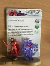 Marvel Heroclix Chaos War  #56 Scarlet Witch and Wonder Man - Chase