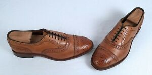 Allen Edmonds Strand Oxford - Walnut- Size 8 D $450