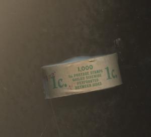 ONE 1923  Full Coil of 1000 1c Scott 597 BENJAMIN FRANKLIN STAMP ROLL