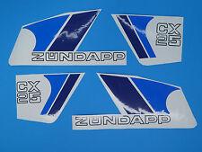 Zündapp Zuendapp Aufkleber kpl. Lacksatz  CX25 weiß 448-151.35