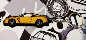 Nissan GTR R35 Key Anello Burnt Orange