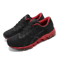 Asics Gel-Quantum 360 5 Black Speed Red Men Running Shoes Sneakers 1021A113-001