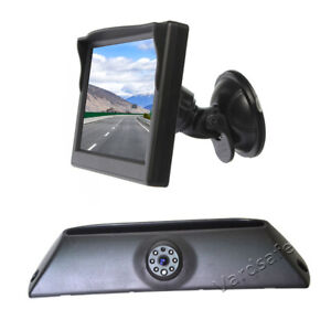 Reversing Camera & Suction Cup Rear View Monitor for Iveco Daily (2006-2013)