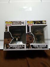 Funko Pop! Rocks Tupac And Notorious B.I.G. Bundle 158/152