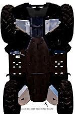 YAMAHA GRIZZLY 700-5-PIECE ALUMINUM A-ARM & CV BOOT GUARD  SKID PLATE,2014-2015