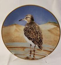 "Danbury Mint Collector Waterbird Plates Sandpiper  9.5"""