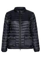 sheego Damen Stepp Jacke Schwarz Black Herbst Winter Langarm Warm Jacket NEU