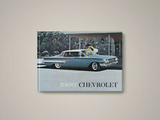 1960 Chevrolet Showroom Album / Bel Air, Biscayne, Corvette, Impala, Corvair