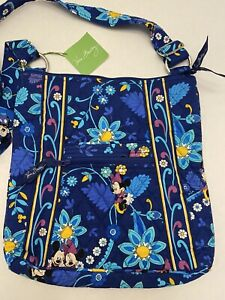 Vera Bradley Disney Parks Mickey Mouse Dreaming of Mickey Hipster Large NWT