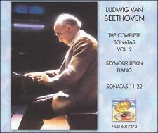 Beethoven: Complete Sonatas Vol. 2 - Sonatas 11-22 Seymour Lipkin Audio CD