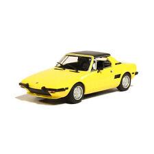 maxichamps 940121660 FIAT X1/9 GIALLO / Nero Scala 1:43 MODELLINO AUTO NUOVO! °