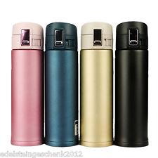 GS:350/500ml Edelstahl Druck Isolierbecher becher Iso-Kaffeebecher Flasche