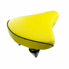NEW! Standard Vinyl Beach Cruiser Large Saddle Bicycle Seat 209 Bike Seat Yellow