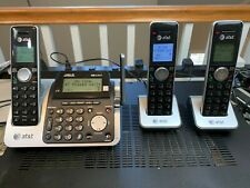 AT&T DECT 6.0 Cordless Telephone Answering System w/3 Handsets CL83451