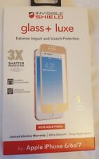 "NEW ZAGG Glass + Luxe Screen Protector for Apple iPhone 7 / 8 (4.7"") ROSE GOLD!!"