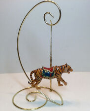 Kurt Adler Carousel Tiger Ornament