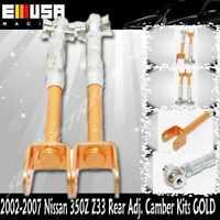 Fit 2003-2007 Nissan 350Z //2002-2006 Infiniti G35 Adjustable Suspension Rear Camber Kit Purple