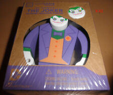 BATMAN villain THE JOKER painted WOODED wood FIGURE toy DC universe lootcrate