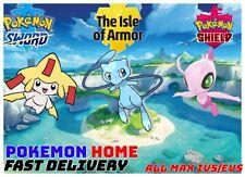 Pokemon Sword & Shield Shiny 6IV Jirachi, Celebi and Mew FAST DELIVERY