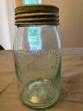 Vintage CROWN mason jars