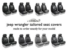 Coverking Custom Tailored Front Seat Covers for Jeep Wrangler - Made to Order