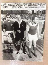 CALCIO ANNI '50 MATCH SAMPDORIA - AUSTRIA WIEN VIENNA - FOTO CAPITANI A MARASSI