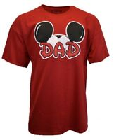 DISNEY Mickey Mouse Mens T Shirt Size 2XL Short Sleeve Graphic DAD Cool Tee NEW