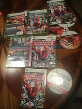 XBOX 360 Marvel Ultimate Alliance Forza 2 dual pack + Ultimate Alliance 2 games