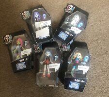 New 6 Monster High Mega Block 9 Pcs Figures, Age 6+