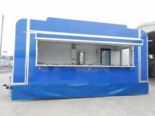16 ft Catering Trailer / Crepe / Street food / Crepe Plates