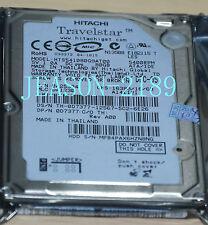 "Hitachi Travelstar 80GB 2.5"" IDE Hard Drive HTS541080G9AT00  5400 RPM   (track)"