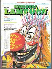 NATIONAL LAMPOON THE HUMOR MAGAZINE JULY 1978 (VG+)