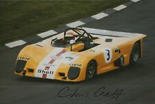 Chris Craft Hand Signed Le Mans 12x8 Photo 6.