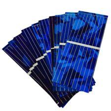100Pcs Solar Panel Solar Cell Diy Battery Charger 0.5V 320Ma 52X19Mm S1J3
