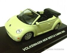 1/43 VOLKSWAGEN NEW BEETLE CABRIO 2003 HIGH SPEED DIECAST