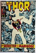 THE MIGHTY THOR #169 GALACTUS APPEARANCE - HIGHER GRADE