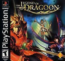 Legend of Dragoon (Sony PlayStation 1, 2000) 4 discs and case