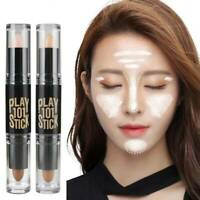 Double-ended Contour Stick 3D Face Eye Foundation Contouring Highlighter Makeup