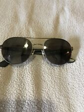 RAY-BAN round sunglasses RB 3536 029/9A 55-18 3P Black/Green Needs New Lenses