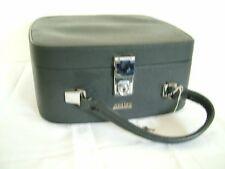 Vintage 60s 70s Antler dark blue vanity case